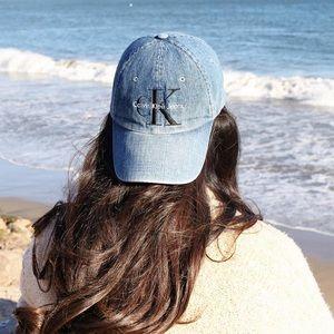 Calvin Klein Jeans Denim Baseball Cap